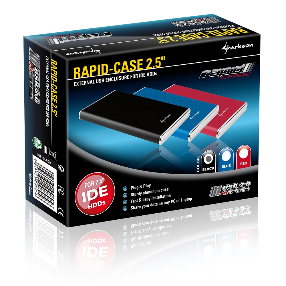 "Rapid-Case 2.5"" SATA (2)"